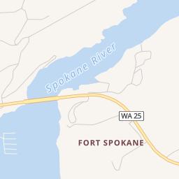 Davenport Washington Map.Fort Spokane Campground Davenport Wa Campground Reviews