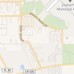 Zephyrhills Fl Map on