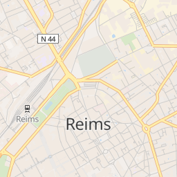 Pokemon Go Map - Find Pokemon Near Reims - Live Radar