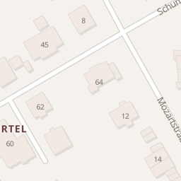 Hotels Mozartstraße (Wermelskirchen) - Stadtplan